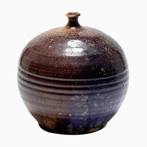 Vintage Keramikvase von F. Guiraud, 1970er