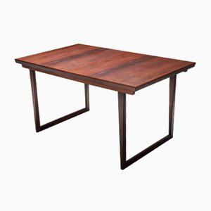 Danish Modern Rosewood Dining Table by Kai Kristiansen, 1960s