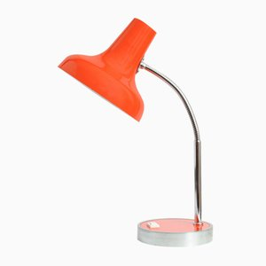 Orange Desk Lamp from Massive, 1970s