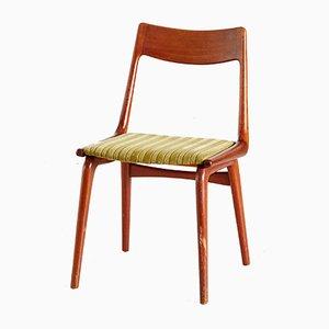 Teak Boomerang Dining Chairs by Erik Christensen for Slagelse Møbelværk, 1950s, Set of 4