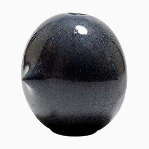 Blaue Mid-Century Vase