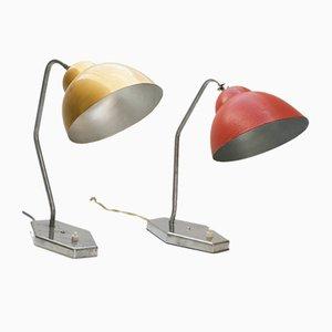 Lampes de Bureau de Inkop, 1950s, Set de 2