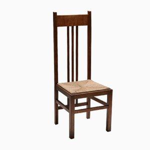 Niederländischer Modernistischer Sessel mit Hoher Rückenlehne, 1920er