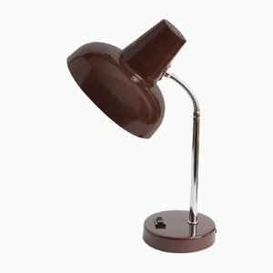 Brown Desk Lamp from Massive, 1970s