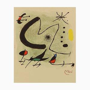 M für Bolaffi Arte Limitierte Auflage Lithographie von Joan Miro, 1970er