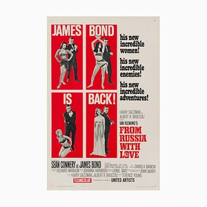 From Russia with Love Movie Poster by David Chasman, 1964