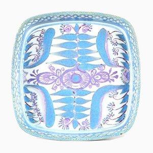 Square Stoneware Tenera Dish by Marianne Johnson for Royal Copenhagen