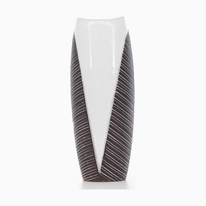 Skandinavische Mid-Century Modern Keramik Vase, 1960er