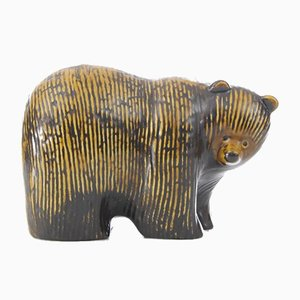 Mid-Century Modern Ceramic Bear by Lisa Larson for Gustavsberg