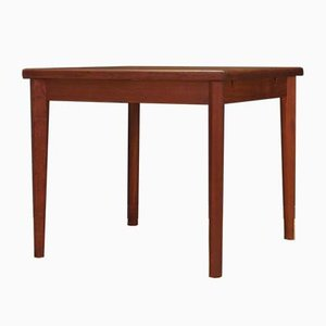 Mid-Century Teak Extendable Dining Table from Brdr. Furbo, 1970s