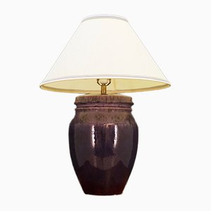 Lampe de Bureau Mid-Century en C