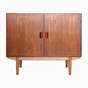 Teak and Oak Cabinet by Børge Mogensen for Søborg Møbelfabrik, 1960s