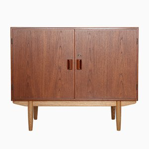 Teak and Oak Cabinet from Søborg Møbelfabrik, 1960s