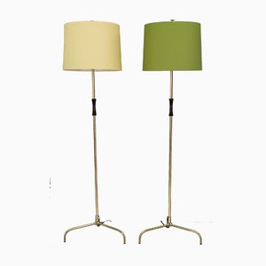 Floor Lamps by Rupert Nikoll, 1950s, Set of 2