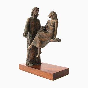 Bronzeskulptur von Leonardo Lucchi