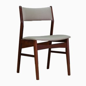 Mid-Century Danish Teak Dining Chairs, 1970s, Set of 5