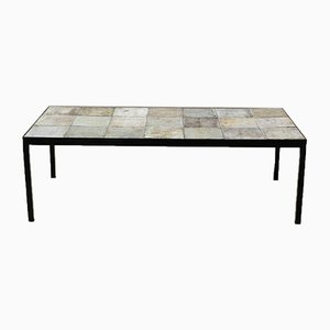 Mid-Century Ceramic Coffee Tables by Les 2 Potiers, Set of 2