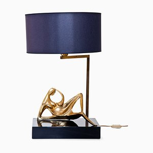 Vintage Italian Table Lamp from Fonderia d'Arte, 1980s