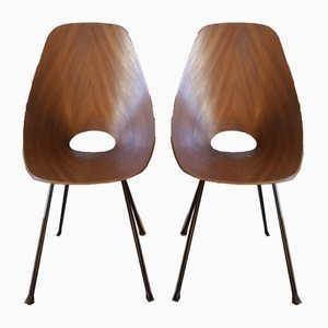 Medea Chairs by Vittorio Nobile for Fratelli Tagliabue, 1956, Set of 2