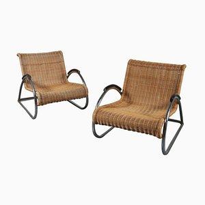 Vintage-Sessel, 2er-Satz