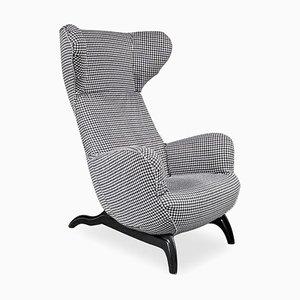 Model Ardea Chair by Carlo Mollino for Zanotta, Italy, 1980