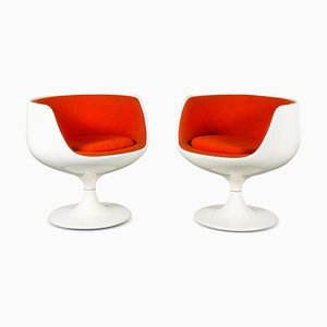 Cognac Chairs by Eero Aarnio for Asko, Finland, 1960s