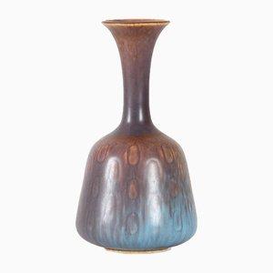 Skandinavische Vintage Keramikvase von Gunnar Nylund für Rörstrand