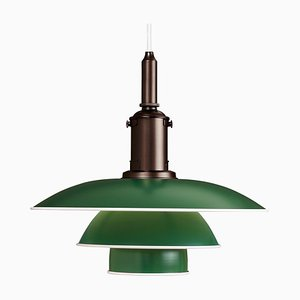 Mid-Century Scandinavian Aluminium PH 31⁄2-3 Table Lamp by Poul Henningsen for Louis Poulsen