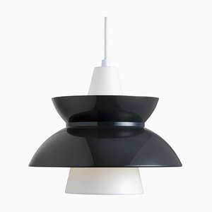 Mid-Century Scandinavian Dark Grey Doo-Wop Pendant Lamp by Poul Henningsen for Louis Poulsen