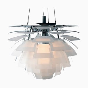 Mid-Century Scandinavian Glass PH Artichoke Pendant Lamp by Poul Henningsen for Louis Poulsen