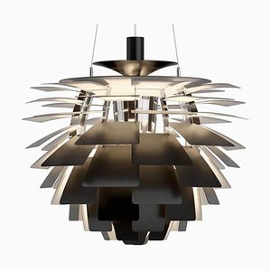 Mid-Century Scandinavian Black PH Artichoke Pendant Lamp by Poul Henningsen for Louis Poulsen