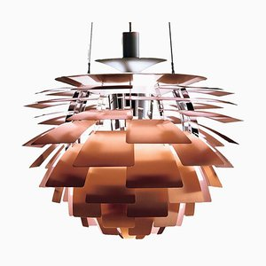 Mid-Century Scandinavian Copper Stainless Steel PH Artichoke Pendant Lamp by Poul Henningsen for Louis Poulsen