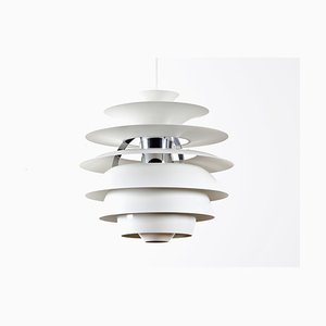 Mid-Century Scandinavian PH Snowball Pendant Lamp by Poul Henningsen for Louis Poulsen