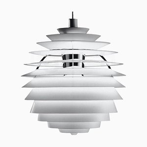 Lampe à Suspension PH Louvre Mid-Century par Arne Jacobsen pour Louis Poulsen, Scandinavie