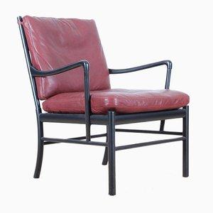 Schwarz Lackierter Modell 149 Mid-Century Armlehnstuhl aus Eiche von Ole Wanscher für Carl Hansen & Søn