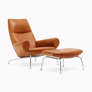 Queen Lounge Chair by Hans J. Wegner for Erik Jørgensen Møbelfabrik