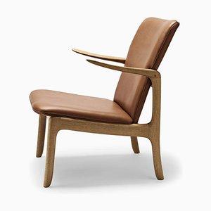 Skandinavischer Mid-Century Modern OW124 Beak Chair von Ole Wanscher für Carl Hansen & Søn