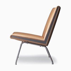 Mid-Century Modern Scandinavian CH401 'Kastrup Series Lounge Chair by Hans J. Wegner for Carl Hansen & Søn