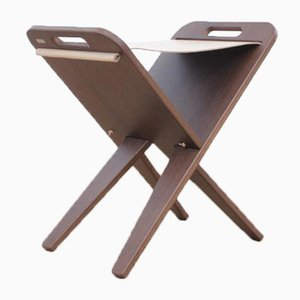 Mid-Century Modern Scandinavian Folding Stool by Piet Hein for Piet Hein A/S