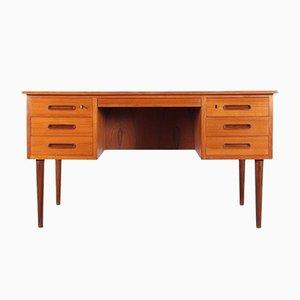 Mid-Century Scandinavian Teak Desk, 1960s