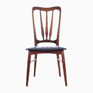 Dänische Mid-Century Modell Chairs Ingrid Palisander von Niels Koefoed für Koefoeds Møbelfabrik, 4er Set