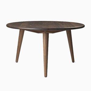 Table Basse Modèle CH008 Mid-Century par Hans J. Wegner pour Carl Hansen & Søn, Scandinavie