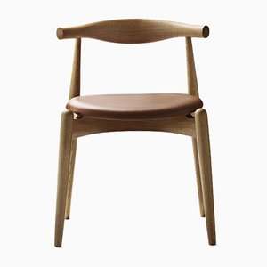 Mid-Century Scandinavian Model CH20 Elbow Chair by Hans J. Wegner for Carl Hansen & Søn