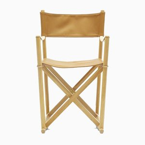 Mid-Century Scandinavian Model MK99200 Folding Chair by Mogens Koch for Carl Hansen & Søn