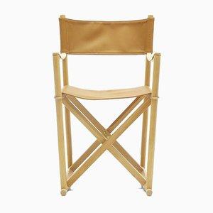 Mid-Century Scandinavian Model MK99200 Folding Chair by Mogens Koch for Carl Hansen & Søn