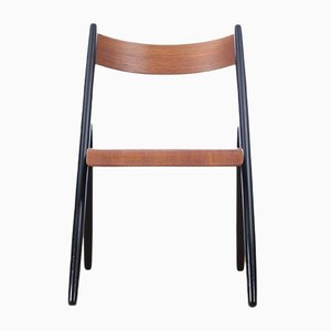 Mid-Century Finnish Teak Chairs by Ilmari Tapiovaara, 1960s, Set of 4