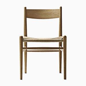 Skandinavischer Mid-Century Modell CH36 Stuhl von Hans J. Wegner für Carl Hansen & Søn