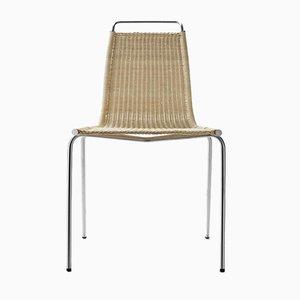 Skandinavischer Mid-Century Modell PK1 Stuhl von Poul Kjearholm für Carl Hansen & Søn