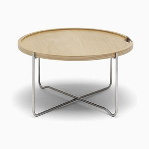 Mid-Century Scandinavian Model CH417 Tray Table by Hans J. Wegner for Carl Hansen & Søn