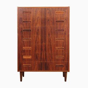 Mid-Century Scandinavian Rio Rosewood Chest of Drawers, 1950s